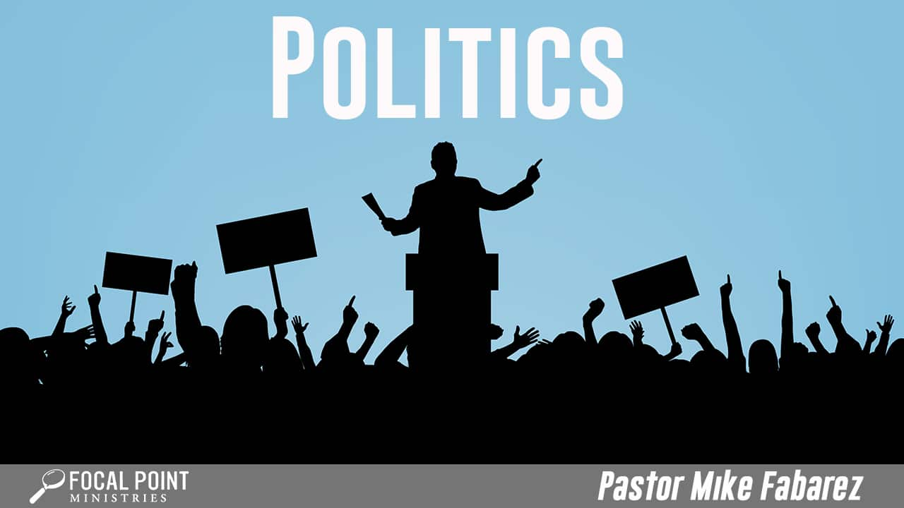 Ask Pastor Mike-Politics Part 1